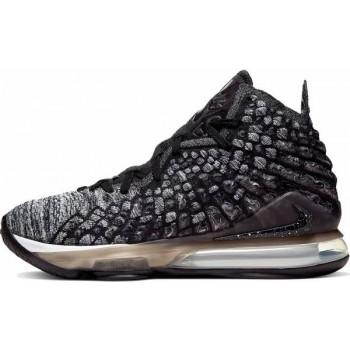 Мужские баскетбольные кроссовки Nike LeBron 17 In The Arena 2019 GREY-BLACK