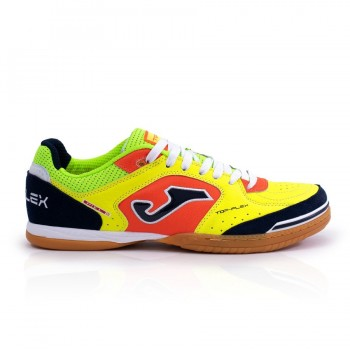 БАМПЫ/ФУТЗАЛКИ JOMA TOP FLEX 816 FLUOR-NAVY INDOOR 2018 TOPW.816.IN