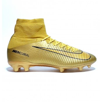 Бутсы Nike mercurial superfly CR7 gold