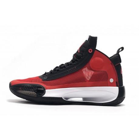 Кроссовки баскетбольные Nike Air Jordan 34 Red