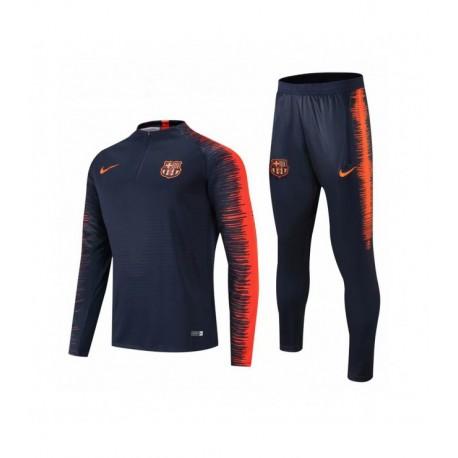 Барселона костюм тренировочный сезона 2018-2019 blue