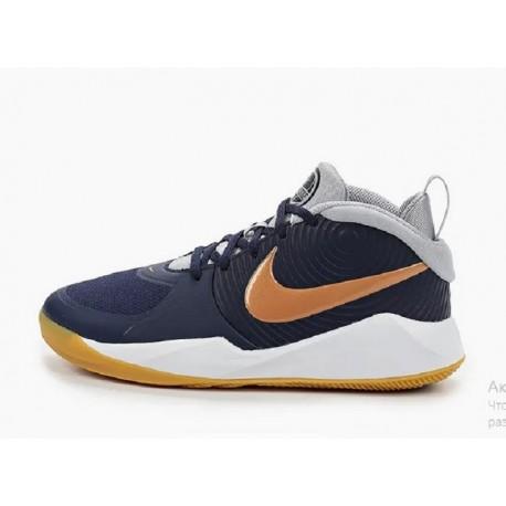 Nike Кроссовки баскетбольные TEAM HUSTLE D 9 (GS)