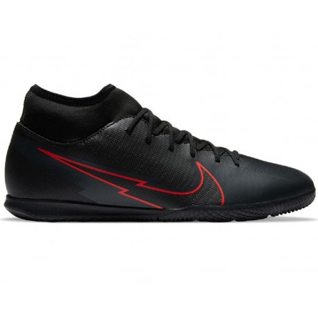 Nike Mercurial Superfly 7 Club Ic AT8153-011 indoor shoes black multicolored