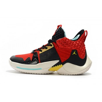 Jordan Why Not Zer0.2 Black/Red/Gold